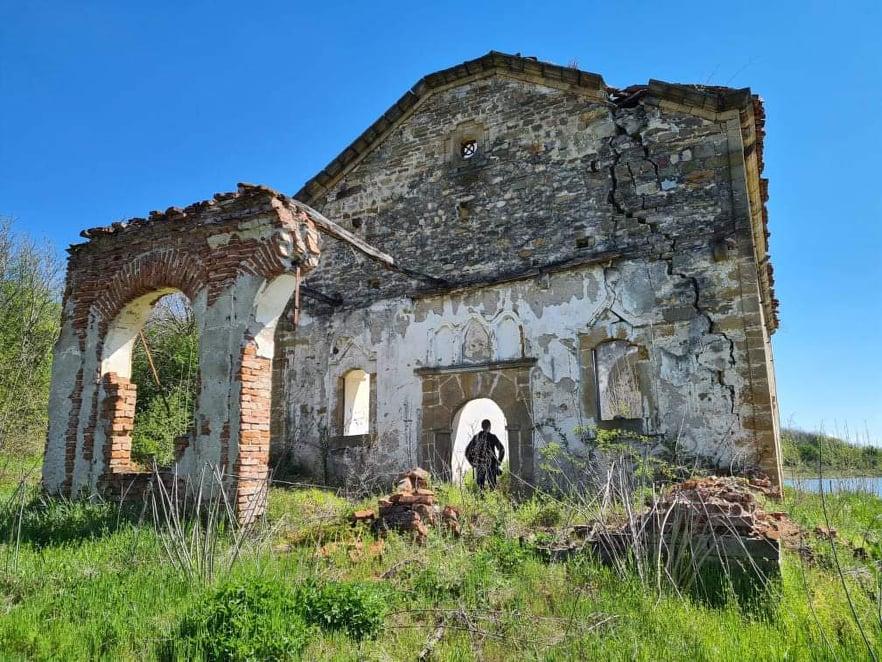 Потопената църква Свето Възнесение Огоста
